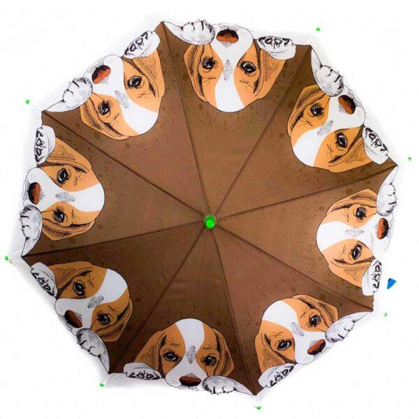 Детский зонт трость рисунок-собачка| Lucky Elephants