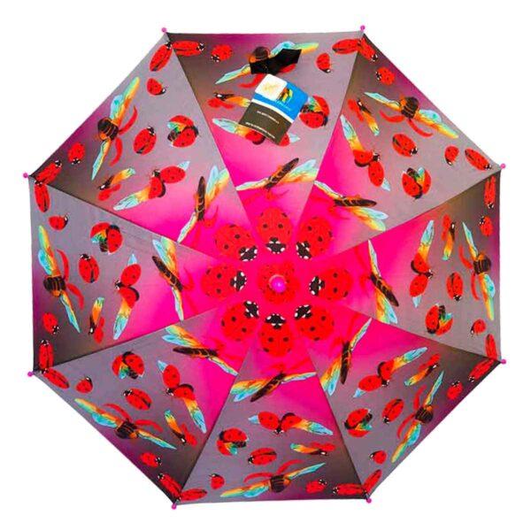 Детский зонт трость-божья коровка |Lucky Elephants