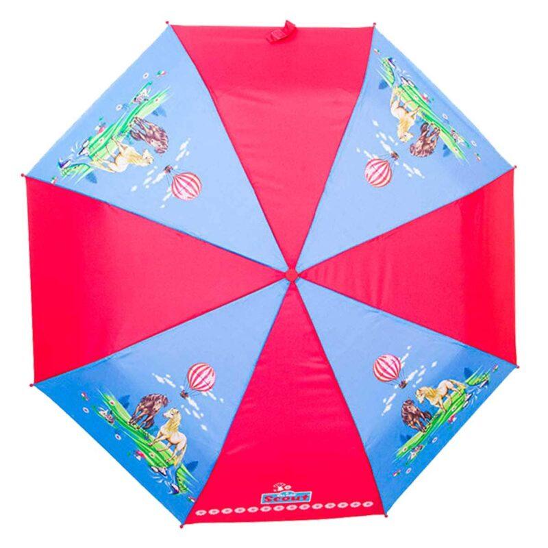 Детский зонт складной с рисунком-Долина