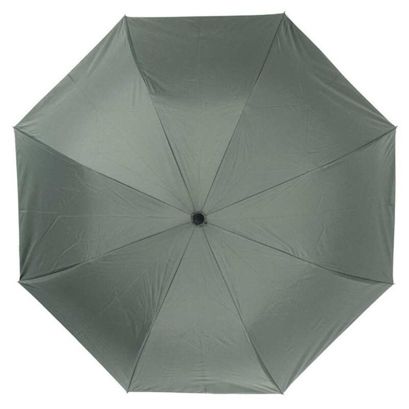 Женский зонт трость наоборот серый-желтый