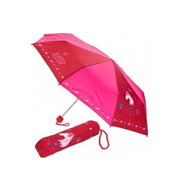 Детский зонтик складной с рисунком-Лошадка
