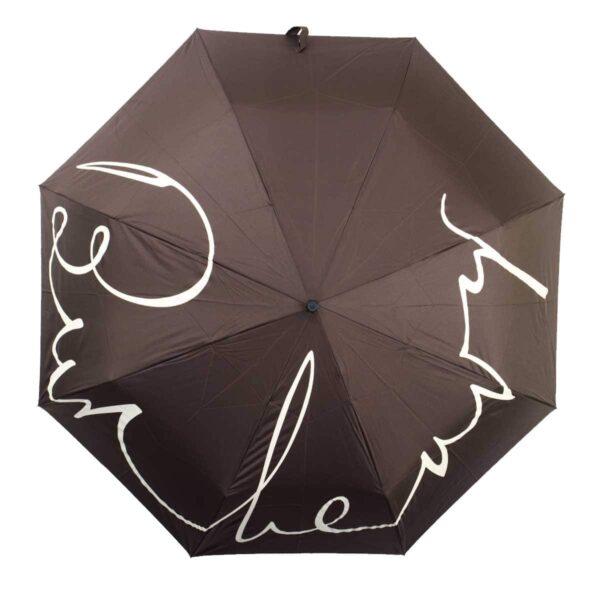Женский зонт doppler-полный автомат коричневого цвета