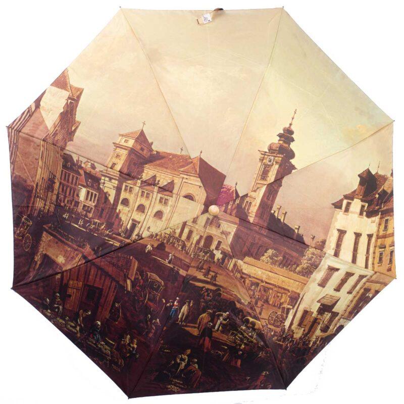 Женский зонт полный автомат-old city Paris