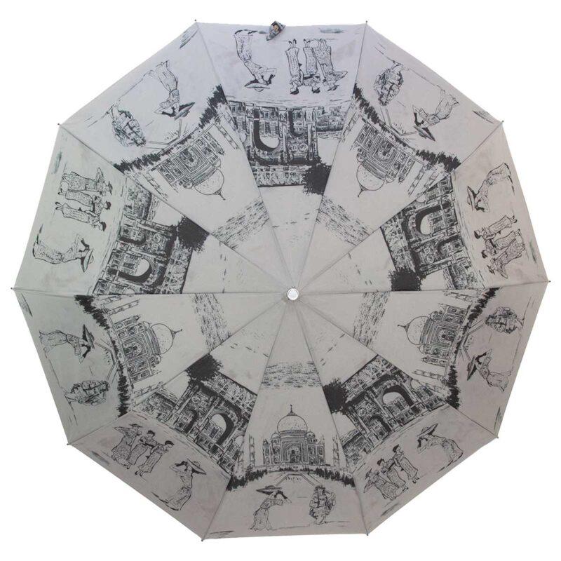 Зонт Три Слона полный автомат серого цвета