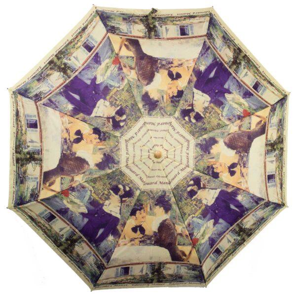 Женский зонт полный автомат-картина