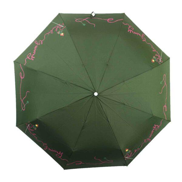 Женский зонт doppler полный автомат цвет хаки