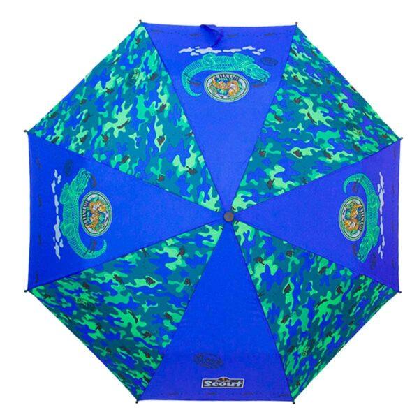 Детский зонт складной с рисунком-Джунгли