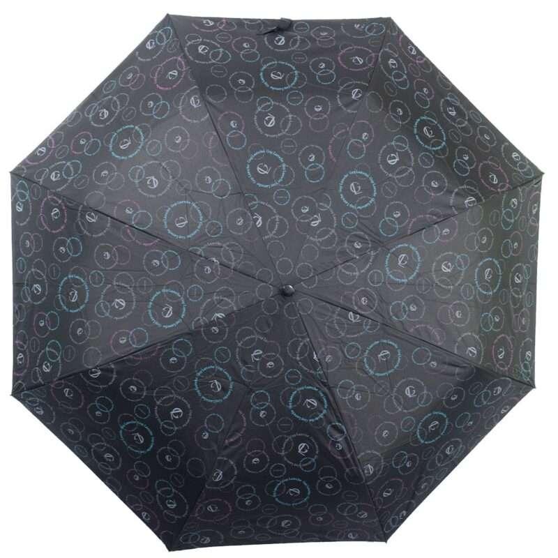Зонт doppler-полный автомат черного цвета