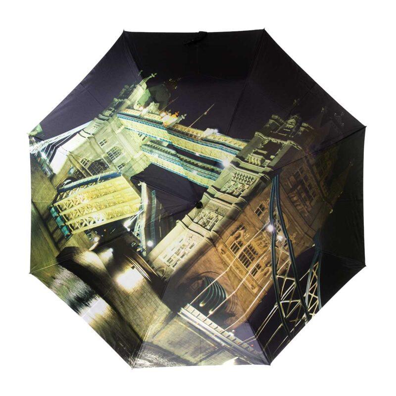 Зонт Три Слона полный автомат с фонариком