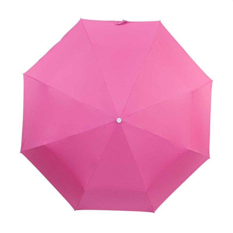 Женский зонт полный автомат двухсторонний розовый