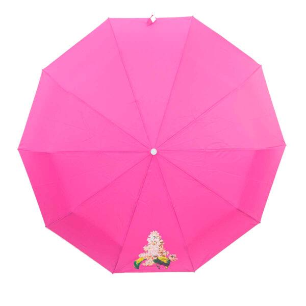 Женский зонт полный автомат однотонный