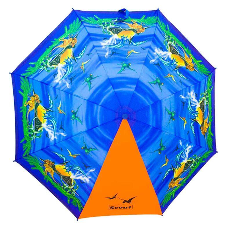 Детский зонт складной с рисунком-Тираннозавр