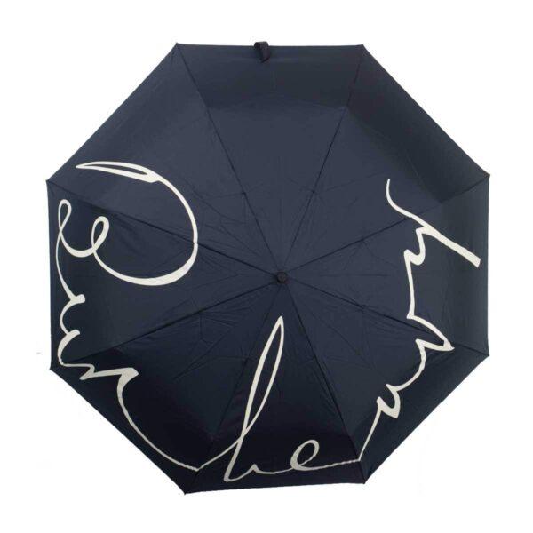 Женский зонт doppler-полный автомат черного цвета