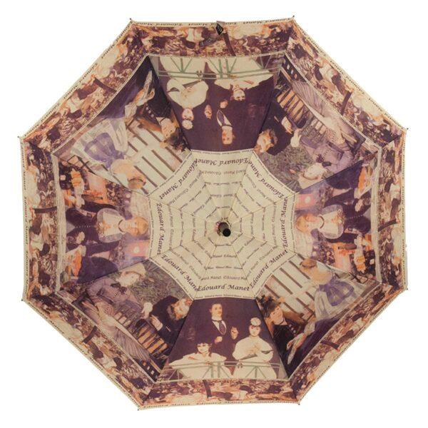 Зонт трость полуавтомат с картиной