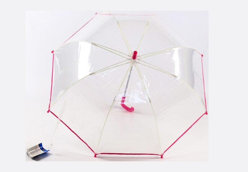 Прозрачный детский зонт-трость  Lucky Elephants