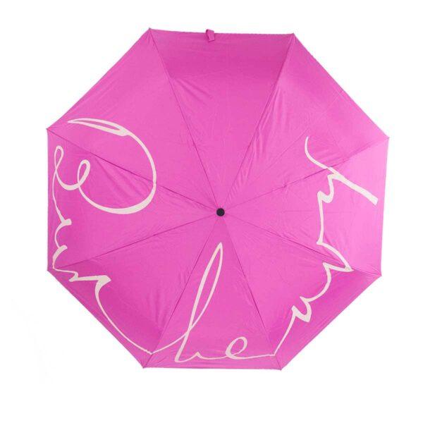 Женский зонт doppler-полный автомат розового цвета