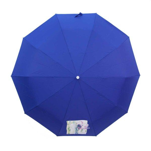 Женский зонт полный автомат однотонный-Три Слона