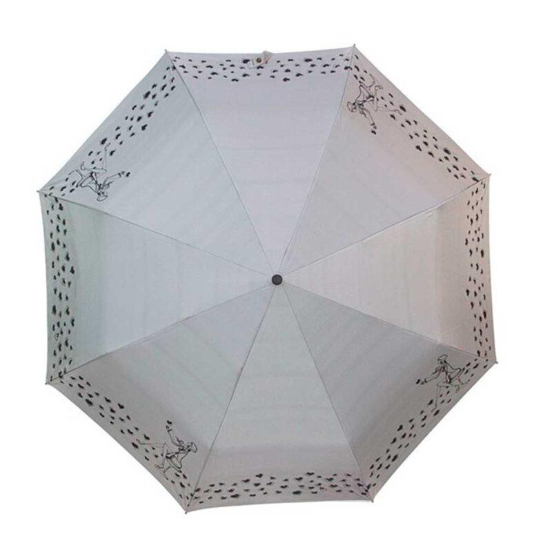 Женский зонт doppler-двухсторонний серо-серебристый цвет