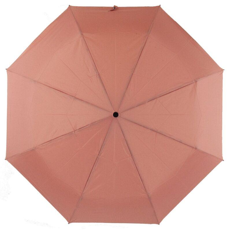 Мини зонт кораллово-розового цвета-Lucky Elephants