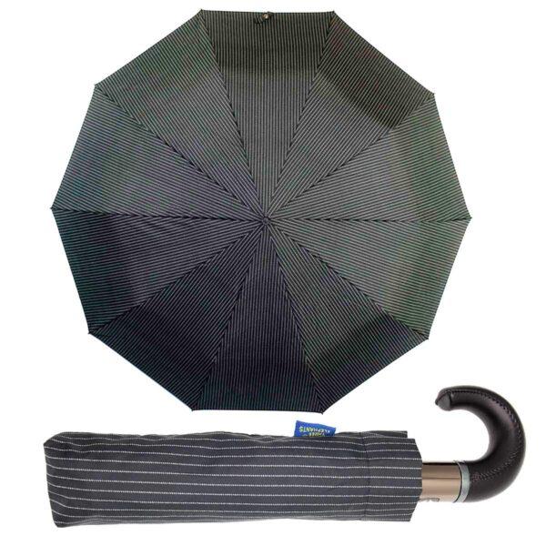 Мужской зонт Три Слона полный автомат