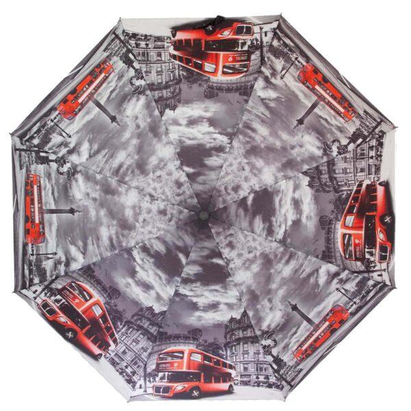 Зонт женский полуавтомат-ночной Лондон