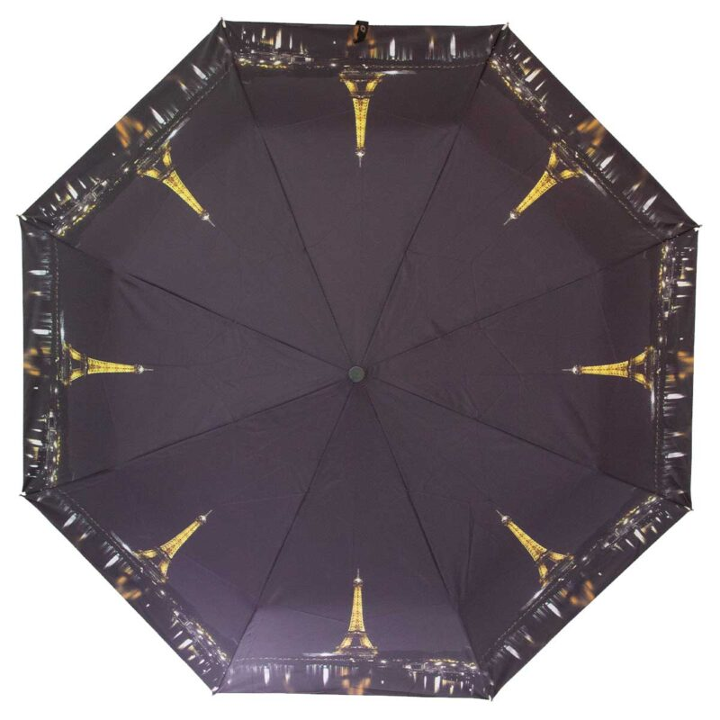 Зонт женский полуавтомат Эйфелева башня