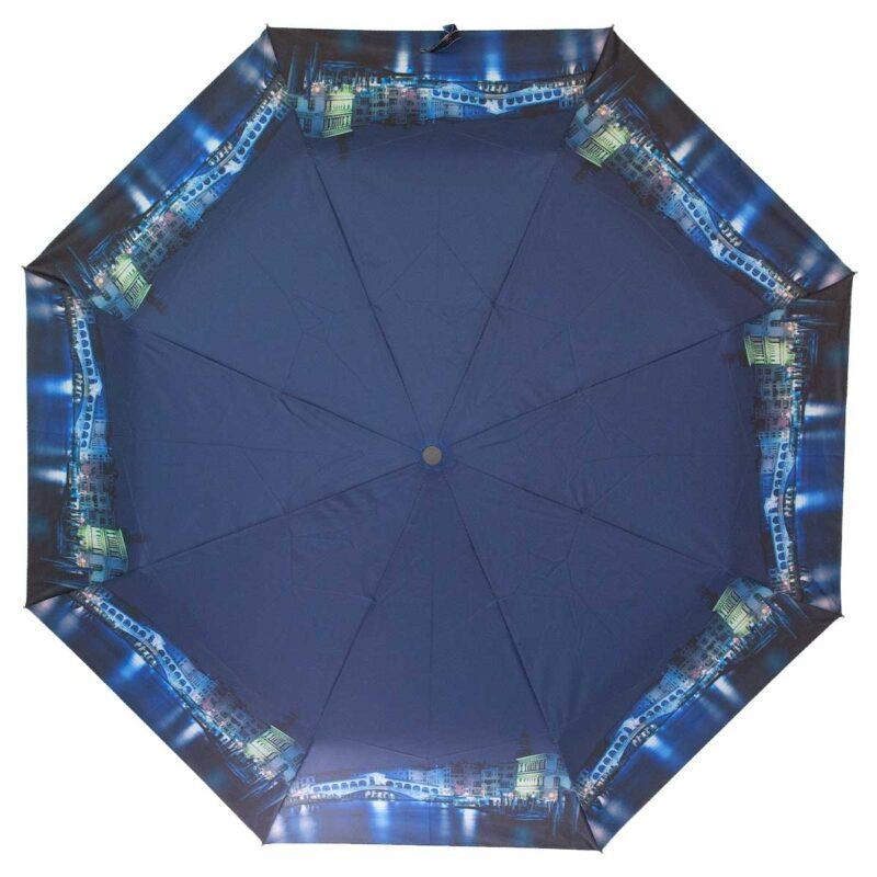 Зонт женский полуавтомат-ночная Венеция