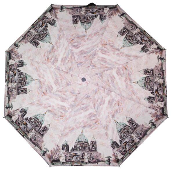 Зонт полный автомат картина Париж в дожде