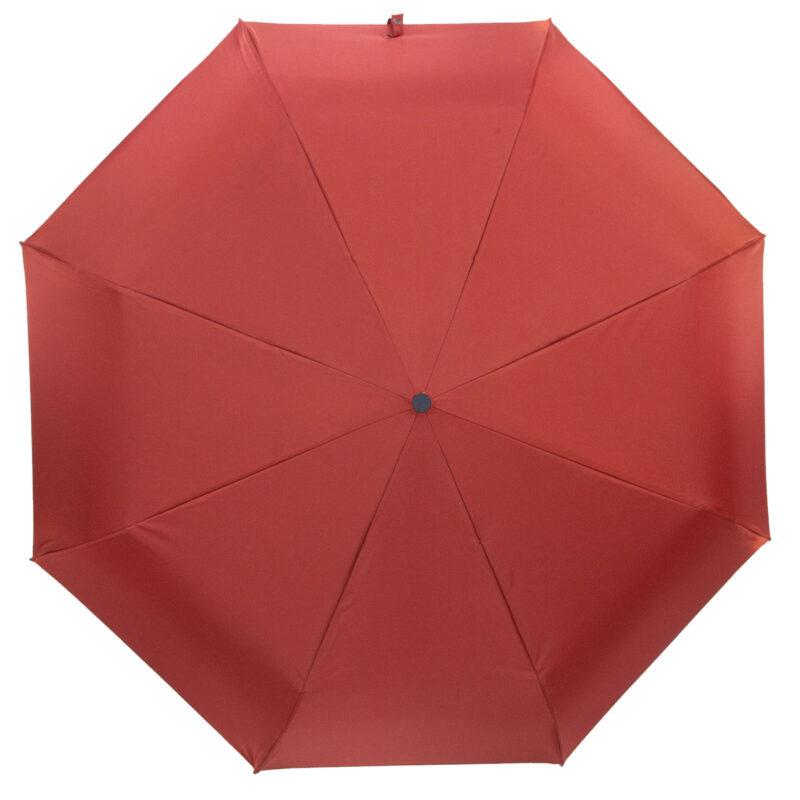 Мини зонтик темно красного цвета