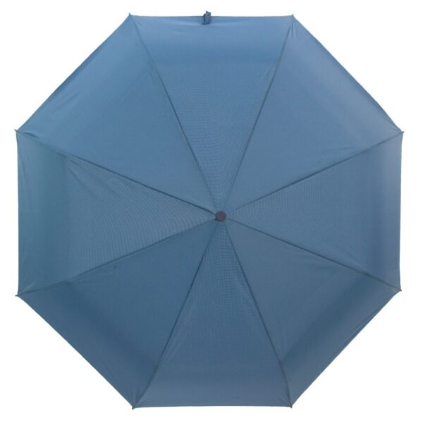 Зонт Три Слона мини в мелкую клетку тёмно-бирюзового цвета
