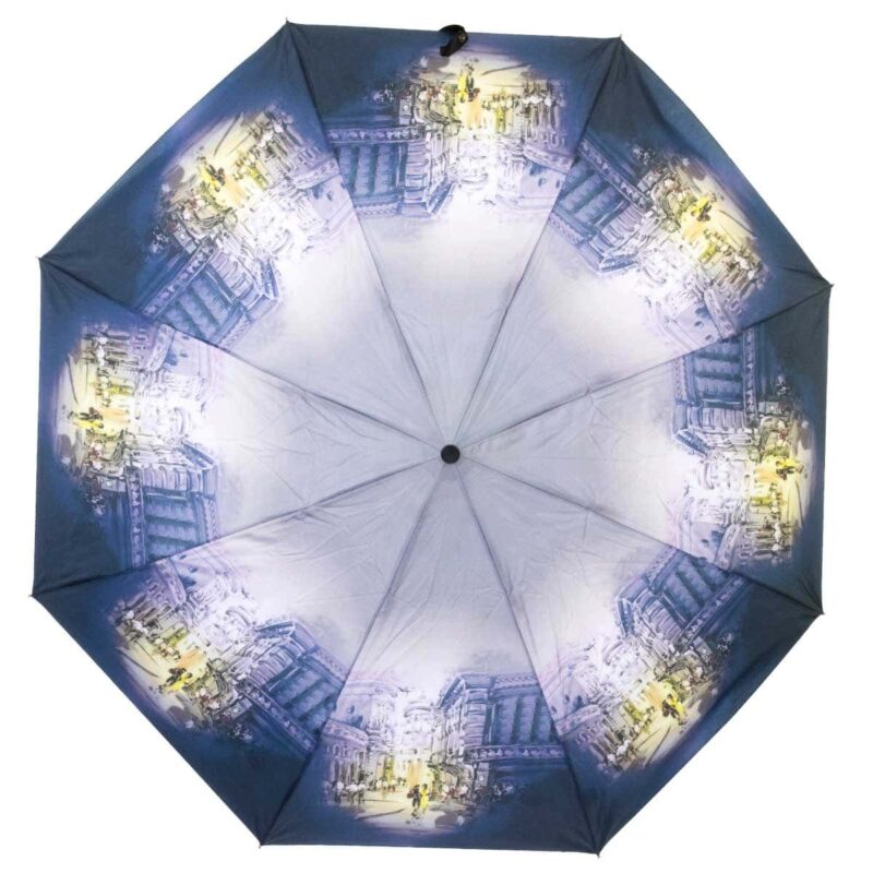 Складной зонт с принтом