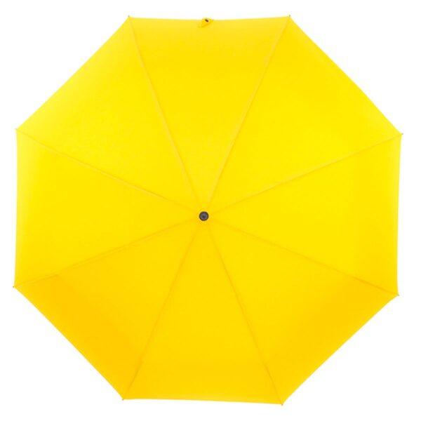 Зонт желто-горчичный цвет полный автомат