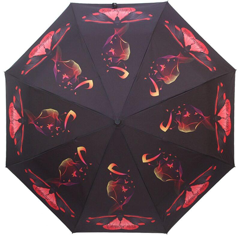 Зонт полный автомат fashion с бабочками