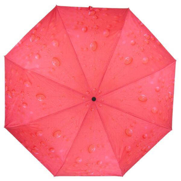 Зонт красный коралл