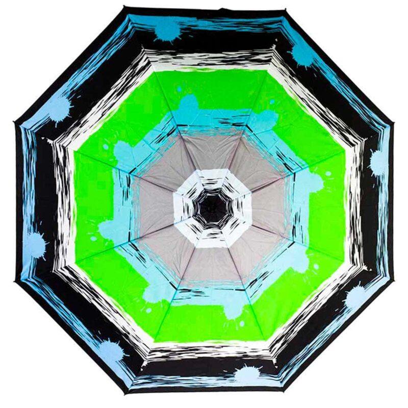 Зонт абстракция чёрный фон автомат