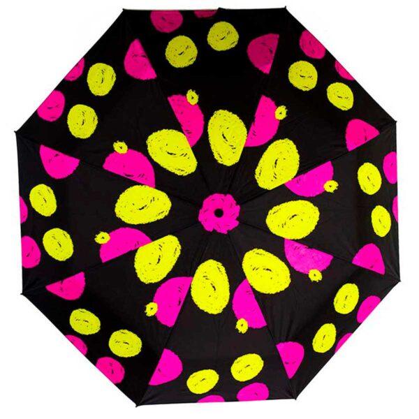 Зонт абстракция чёрный фон полный автомат