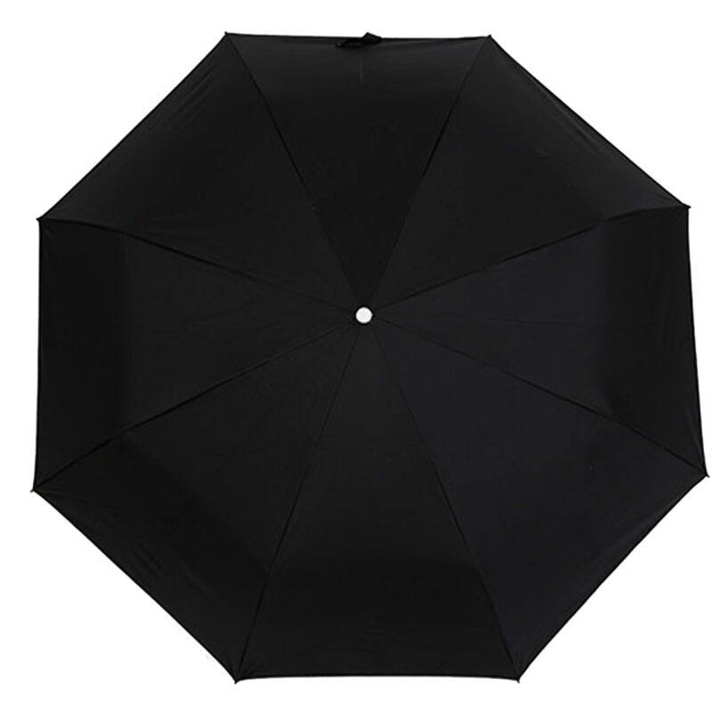 Зонт полуавтомат черного цвета