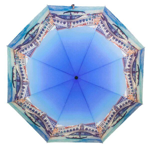 Зонт голубого цвета