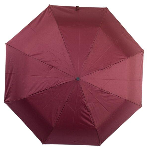 Зонт бордового цвета полный автомат