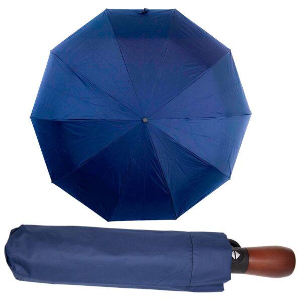 Зонт с деревянной ручкой