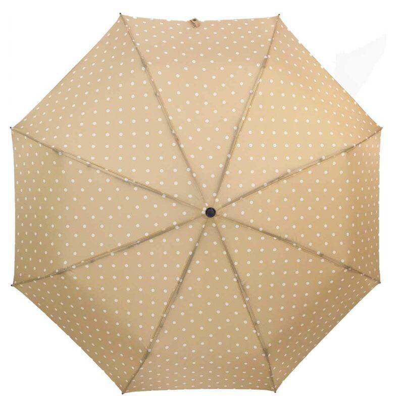 Мини зонт бежевого цвета-Три Слона