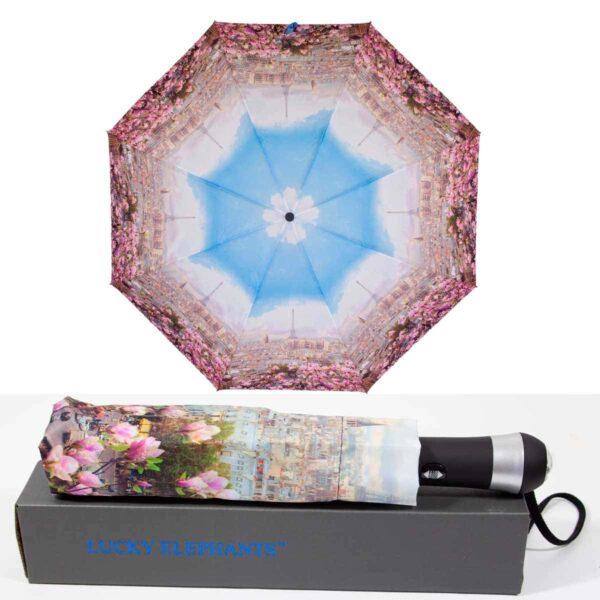 Зонт с фонариком полный автомат