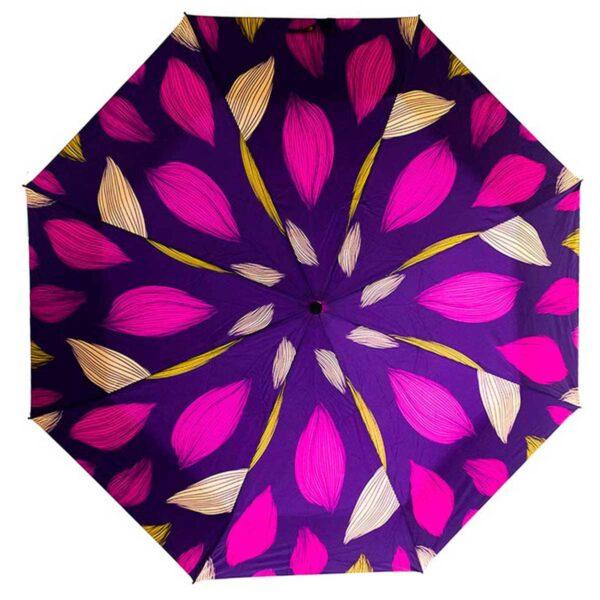 Зонт абстракция фиолетового цвета