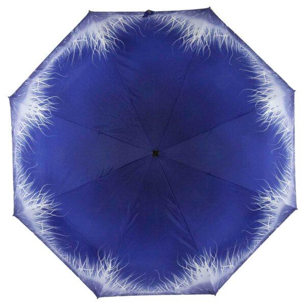 Зонт Три Слона мини абстракция синего цвета