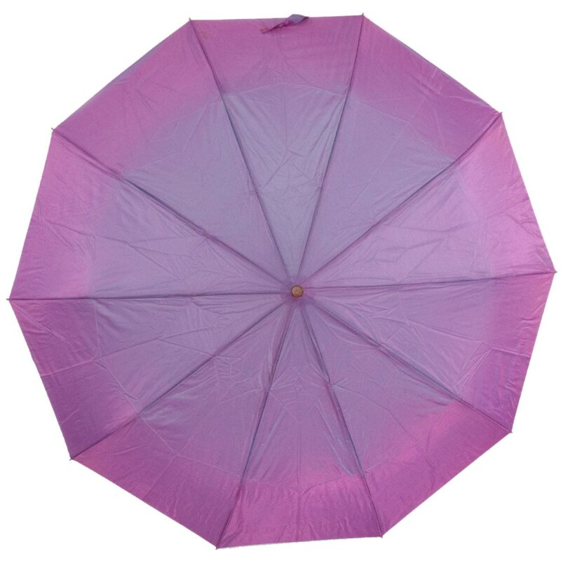 Женский зонт сиреневого цвета хамелеон
