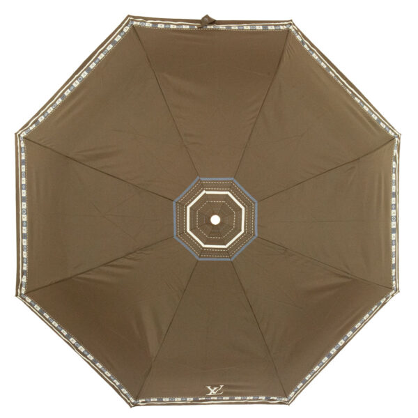Женский зонт цвет хаки полный автомат