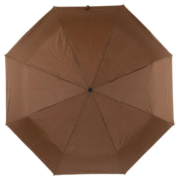 Мини зонт коричневого цвета-Lucky Elephants