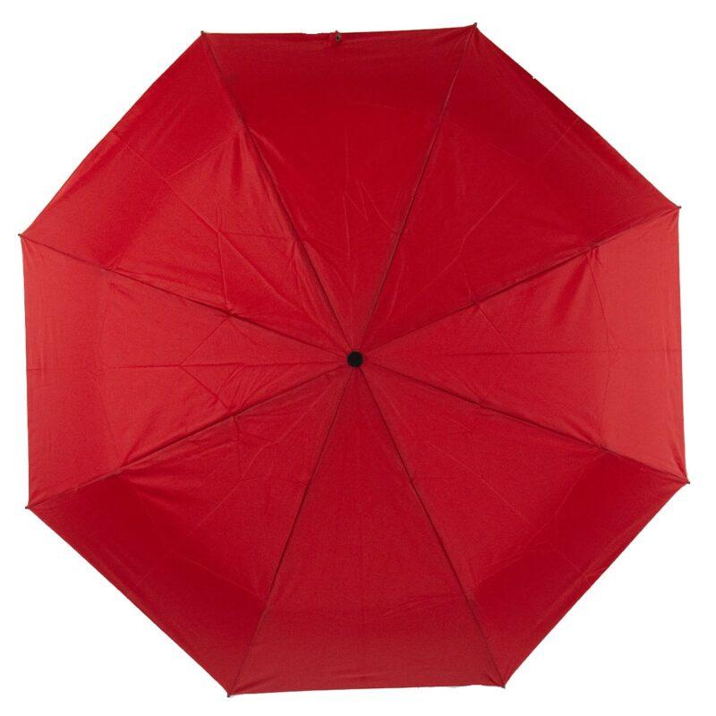 мини зонт темно красного цвета-Lucky Elephants