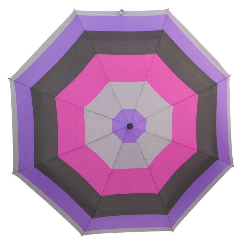 Мини зонт черно серого цвета-Три Слона