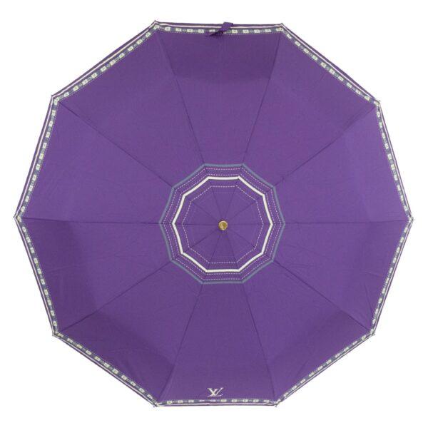 Женский зонт фиолетового цвета полный автомат